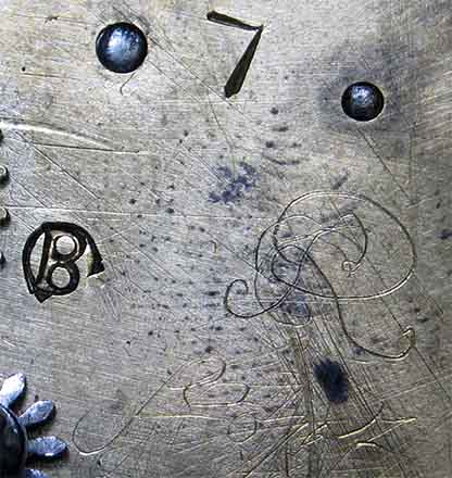 Verge escapement, Signature on the mechanism