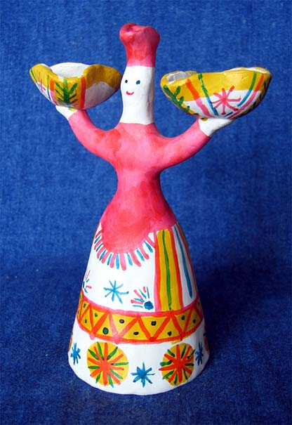 Folk art, Filimonovo toy, Barynja