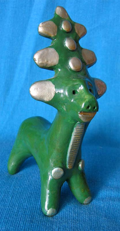Folk art, Abashevo toy, Deer
