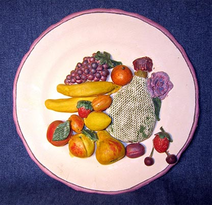Folk art, Filimonovo toy, Fruit
