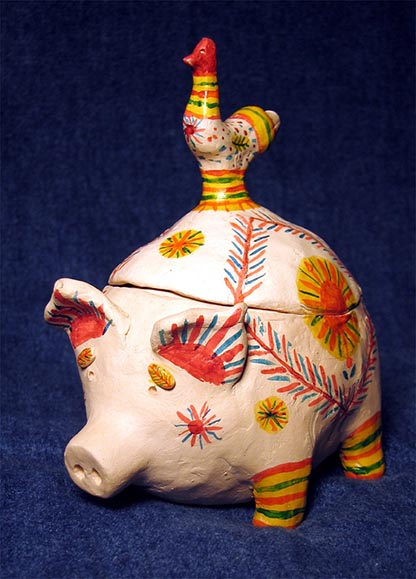 Folk art, Filimonovo toy, Piggy