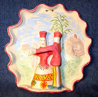 Folk art, Filimonovo toy, Dance