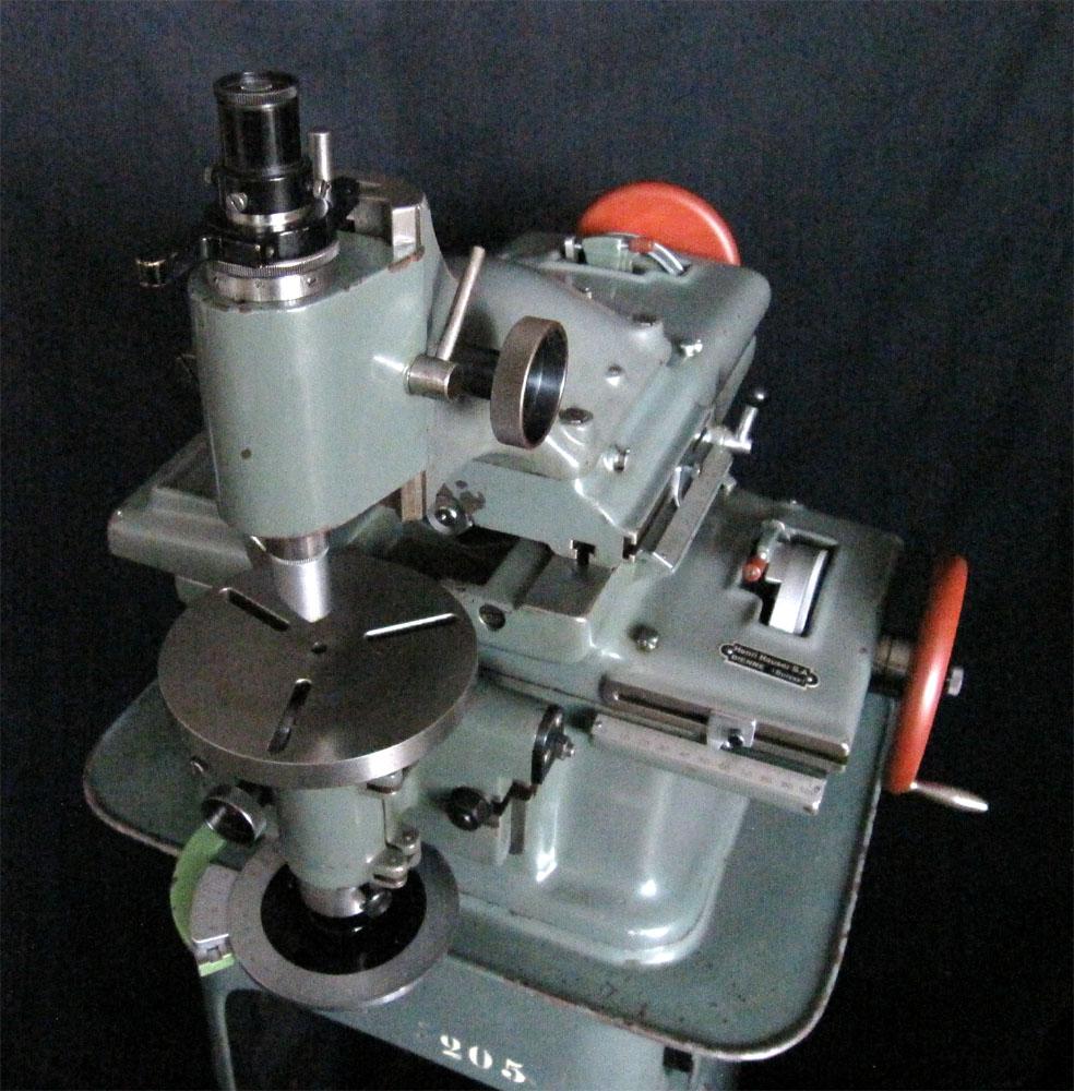 Coordinate Drilling (Jig Borer) Machine Henri Hauser Typ