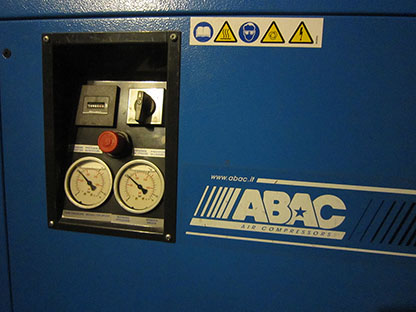 Air compressor, Piston compressor ABAC B2800B LN M3