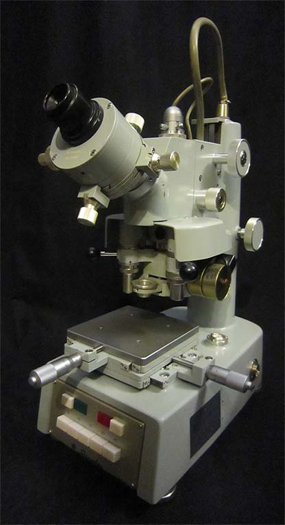 Shimadzu Vickers Microhardness Tester Type M, overall view