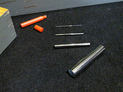 The gauge pins