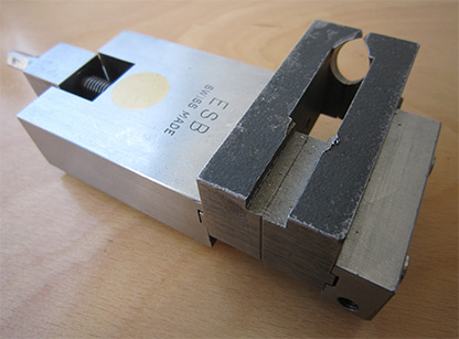 Precision parallel tool-clamping vise ESB (Swiss Made)